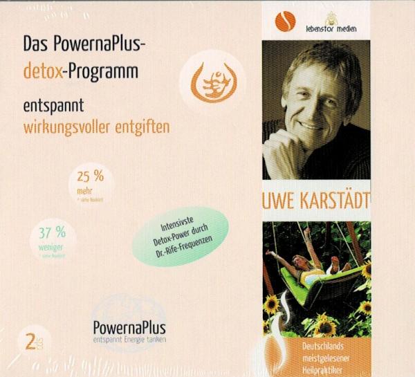 Das PowernaPlus-detox-Programm   2 Audio-CDs