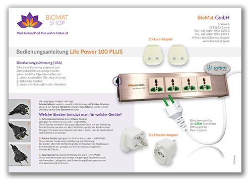 Aleitung_Life_Power_100_biomat_shop