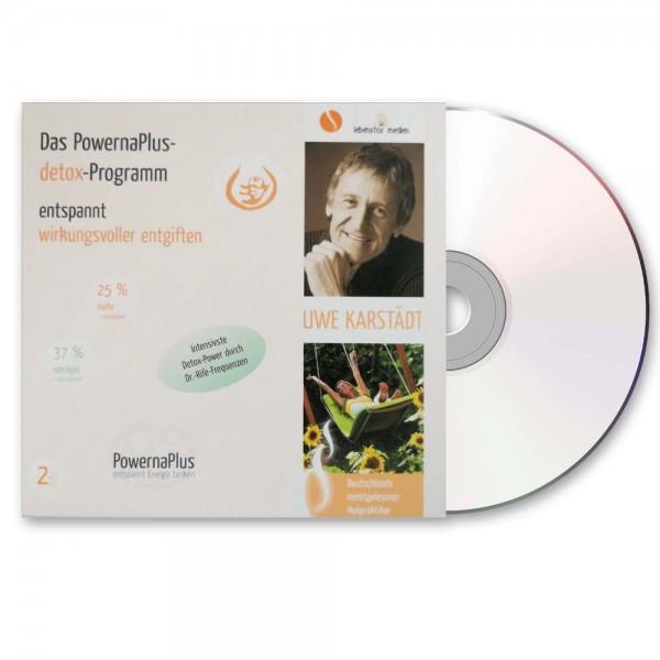 Das PowernaPlus-detox-Programm | 2 Audio-CDs
